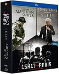 American Sniper - Sully - 15h17 pour Paris d'occasion (BluRay)