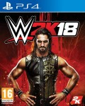 WWE 2K18 d'occasion sur Playstation 4