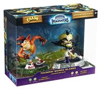 Figurines Skylanders : Imaginators Crash Bandicoot et Dr Neo Cortex en boîte  - Playstation 4
