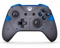 Manette Xbox One Sans Fil - Gears of War 4 JD Fenix Bleue - Xbox One
