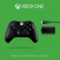 Manette XBox One + Kit Play & Charge - Xbox One