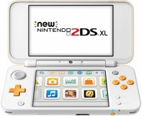 Console New Nintendo 2DS XL Blanc Orange - 3DS