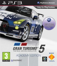Gran Turismo 5: Academy Edition - Playstation 3