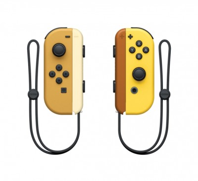 Paire de Manettes Joy-Con Pikachu et Évoli - Switch