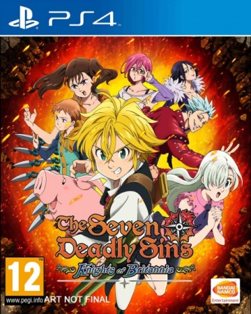 The Seven Deadly Sins : Knights of Britannia - Playstation 4