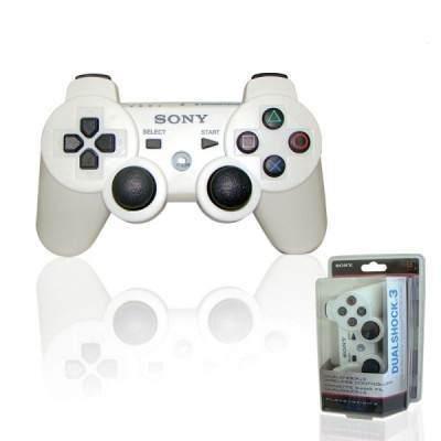 Manette Dualshock 3 : Blanc céramique - Playstation 3