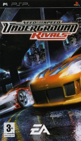 Need For Speed: Underground Rivals  - Playstation Portable