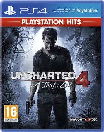 Uncharted 4: A Thief's End Playstation Hits - Playstation 4