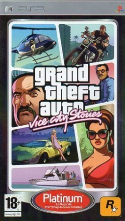 Grand Theft Auto : Vice City Stories Platinum - Playstation Portable
