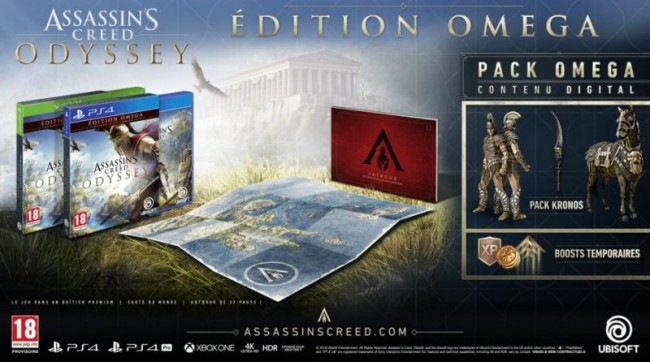 ASSASSIN S CREED ODYSSEY EDITION OMEGA