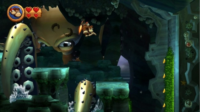 donkey kong country screen1