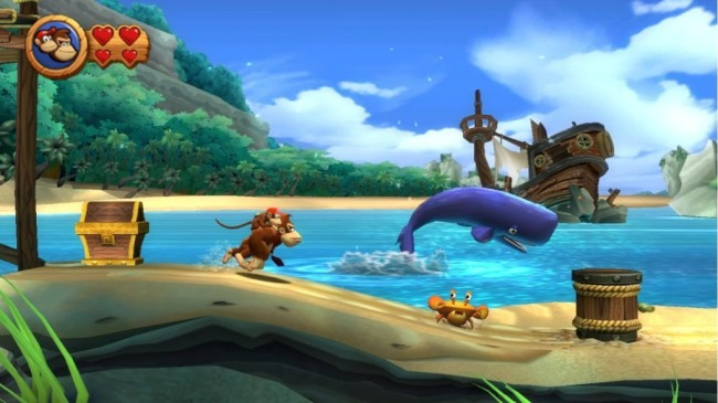 donkey kong country screen5