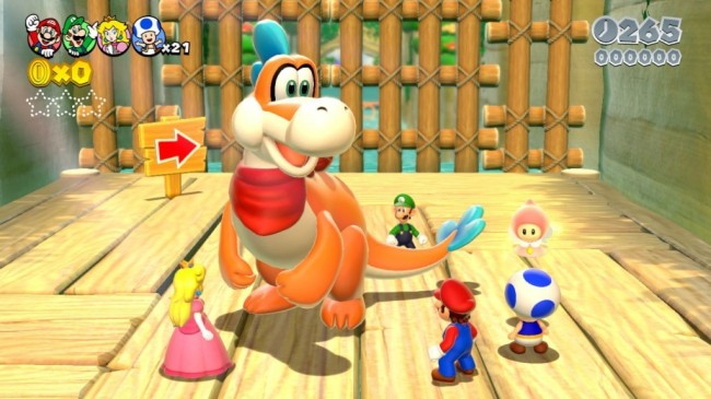 Mario 3D World screen2