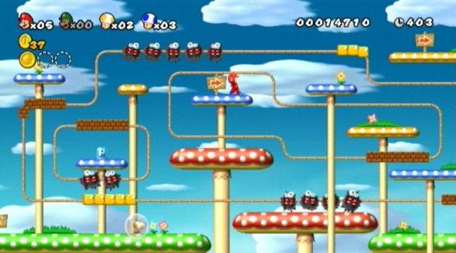 new super mario bros wii SCREEN 3