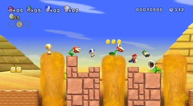new super mario bros wii SCREEN 5