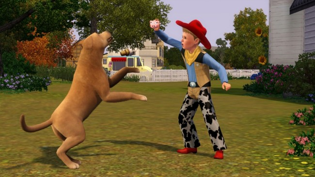 sims 3 animaux & cie screen1