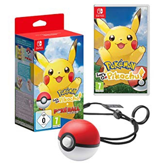 SWI POKEMON PIKACHU + POKEBALL 1