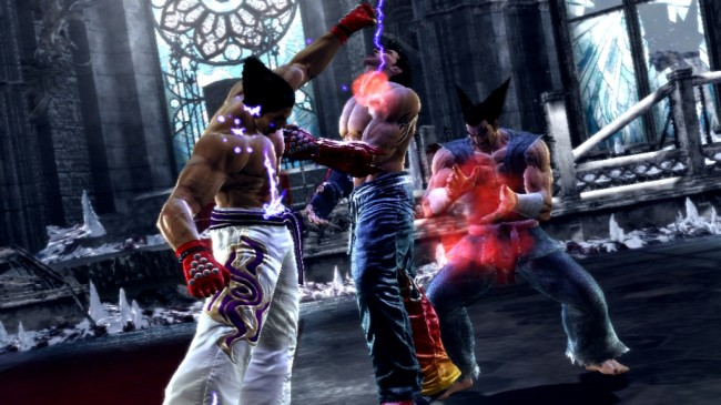 tekken tag tournament 2 screen1