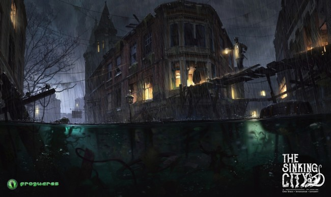 THE SINKING CITY 2