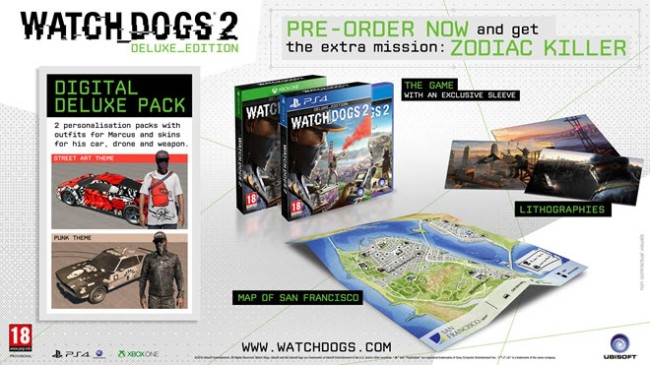 Watch Dogs 2 Edition Deluxe 1